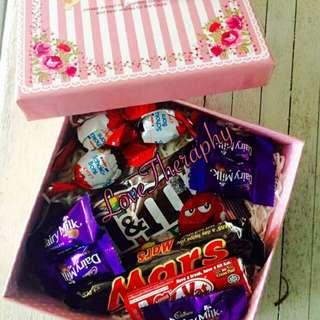 Bouquet Coklat Box