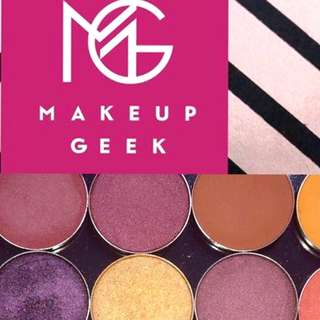 taking preorder for makeup geek eyeshadow!