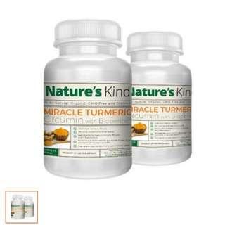 Nature's Kind Turmeric Capsules