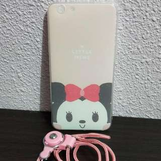 OPPO F1S Cute Pink Minnie Mickey Phone Case