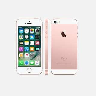 I Phone SE. 64g 玫瑰金
