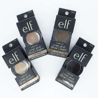 Instock ELF Lock On Liner And Brow Cream 5.5g