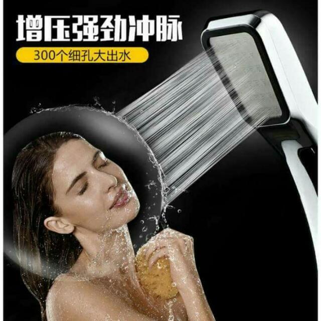 300孔省水增壓蓮蓬頭