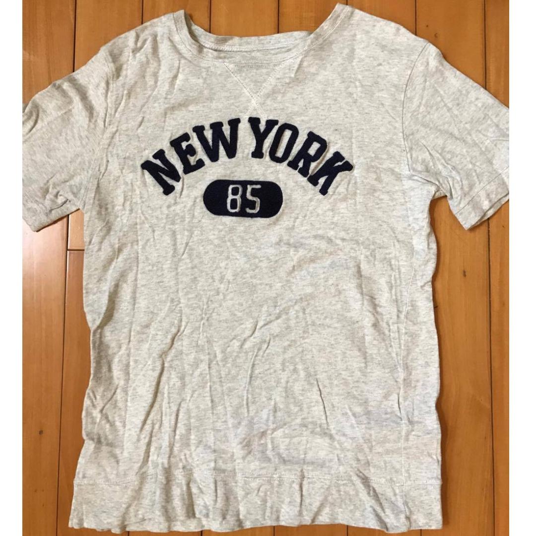 日本 BEAMS NEW YORK 85 紐約字母T