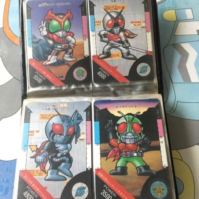 幪面超人 Kamen Rider 卡 咭 21張 絶版 懷舊