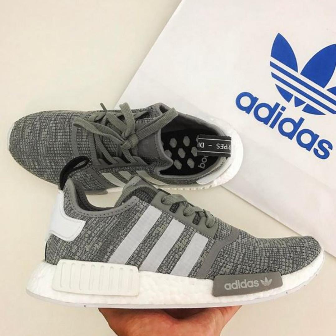Adidas NMD X R1 Solid Grey Glitch