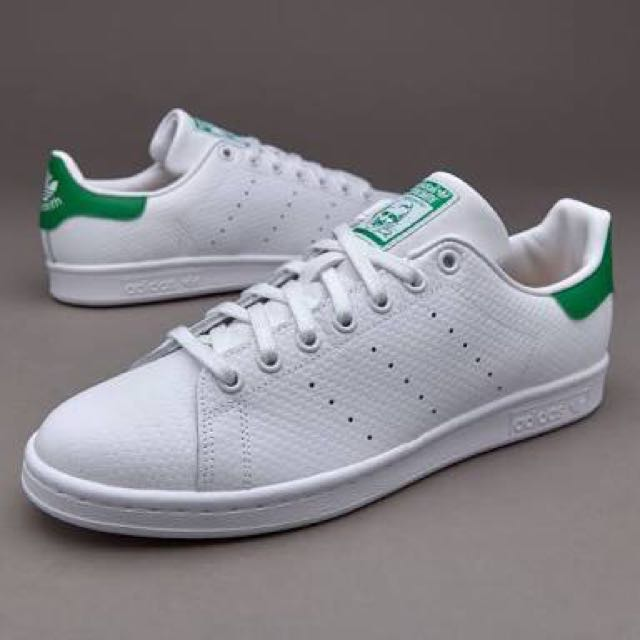 ADIDAS STAN SMITH WOVEN LEATHER