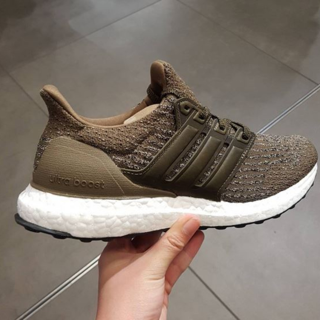 Adidas Ultra Boost 3.0 (Trace Olive)