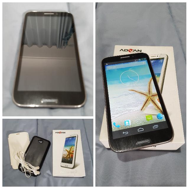 Advan Vandroid S5F Barang Bagussss Mobile Phones Tablets On Carousell