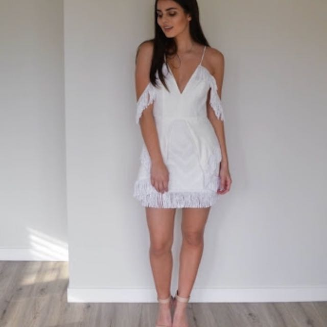 ALICE MCALL WHITE DRESS