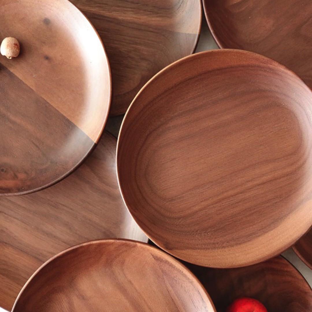 photo photo photo photo & All Natural Wooden Serving Plates Design u0026 Craft Handmade Craft on ...