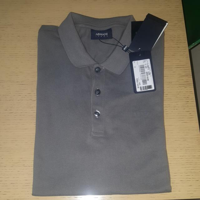 ARMANI JEANS POLOSHIRT Large On TAG Straight Swap Sa FITFLOPS size 7