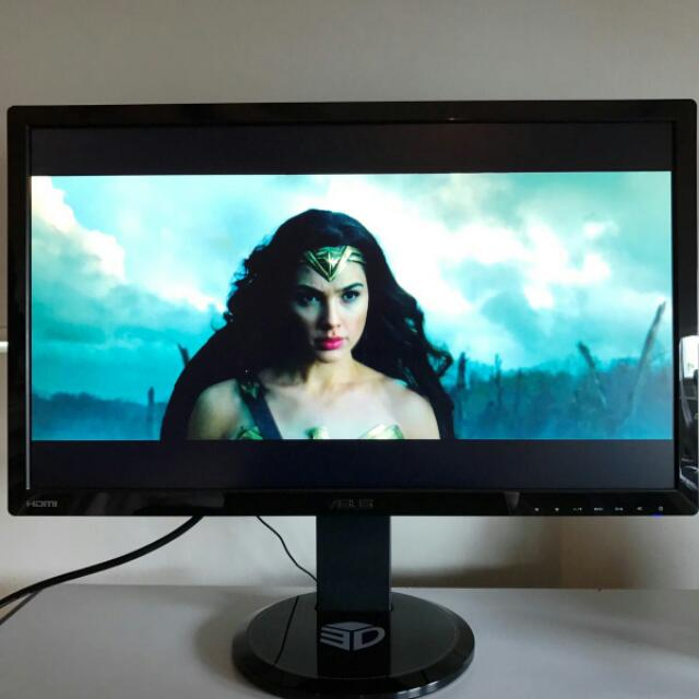 Asus 3D 27 Inch Gaming Monitor 1080p 144Hz VG278HE