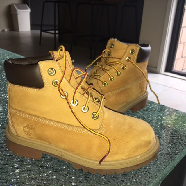 Authentic Original Kids Timberlands