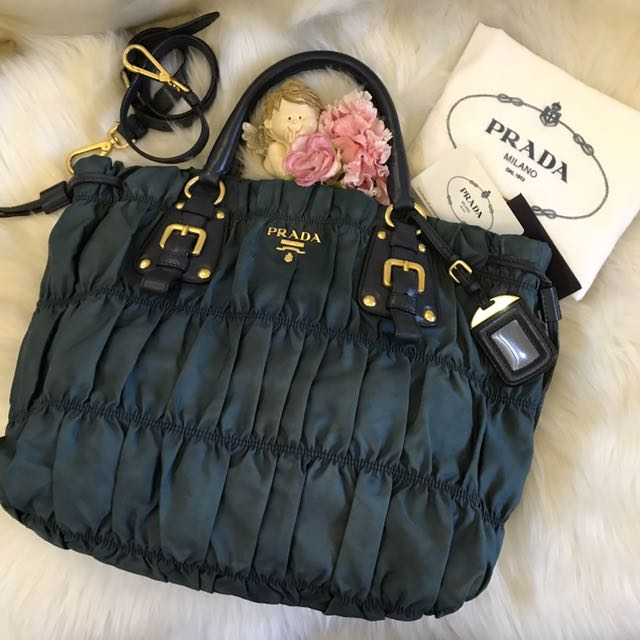 efcbc4f409b7 ... ireland authentic prada gaufre tessuto nylon shopping tote bag bn1788  luxury bags wallets on carousell ac593