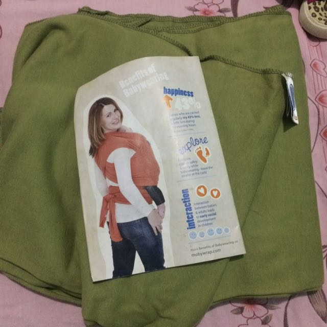 Baby Carrier (MOBY WRAP)