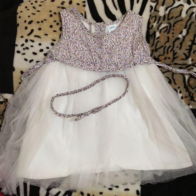 Baby Girl Floral Tutu Dress