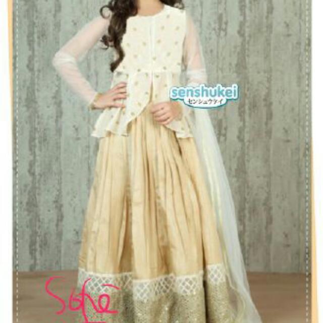 Baju Muslim Anak Import Model India