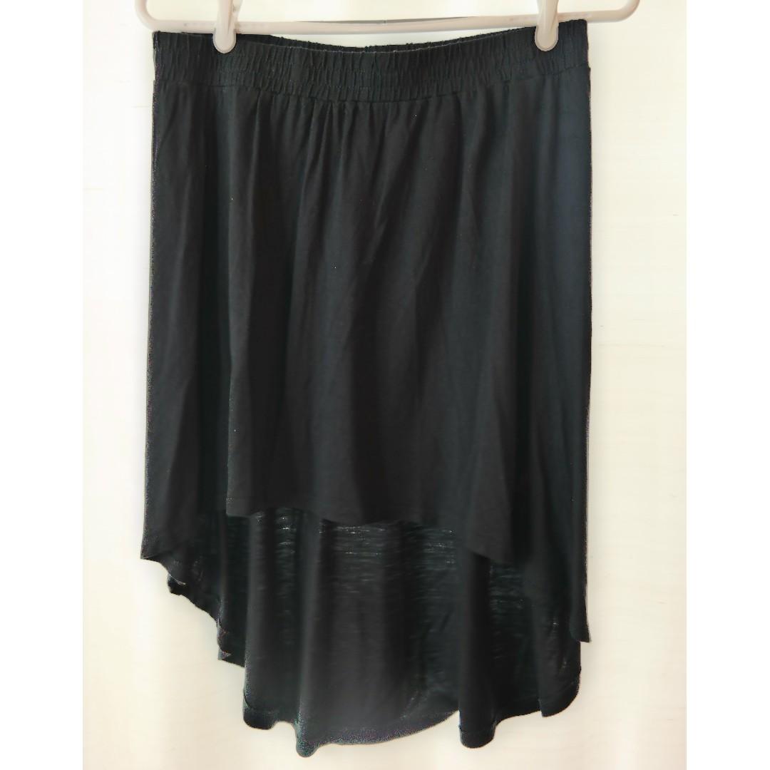 Black Garage Highlow Skirt (60% Off!)