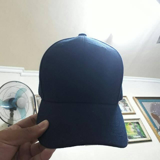 BLUE ADJUSTABLE CAP