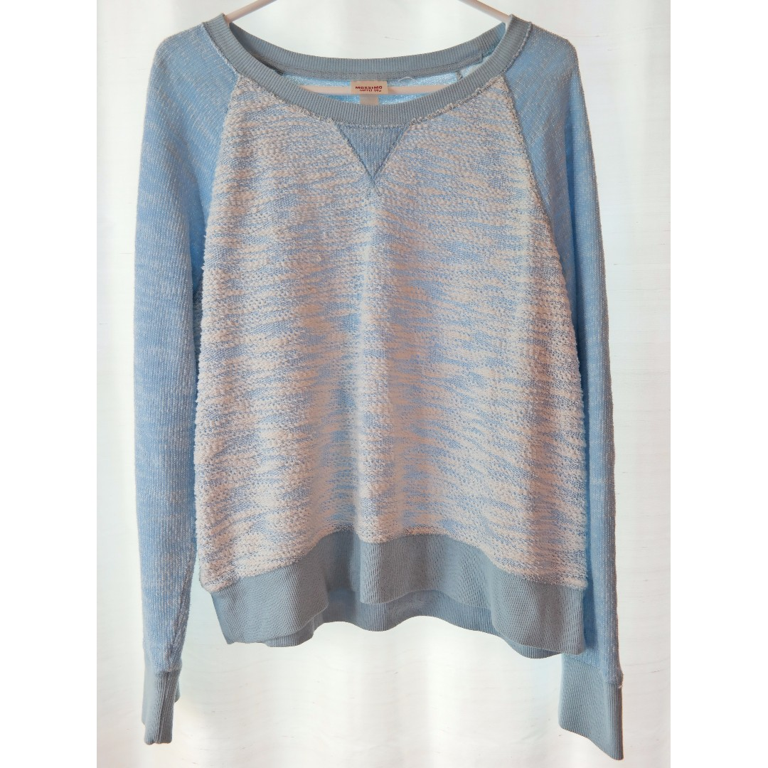 Blue and White Sweater (63% Off!)