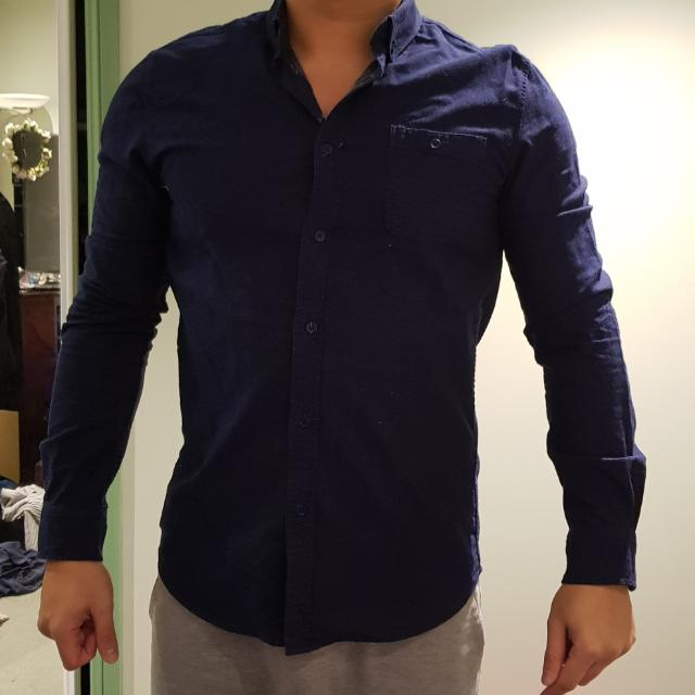 Blue Semi Formal Shirt