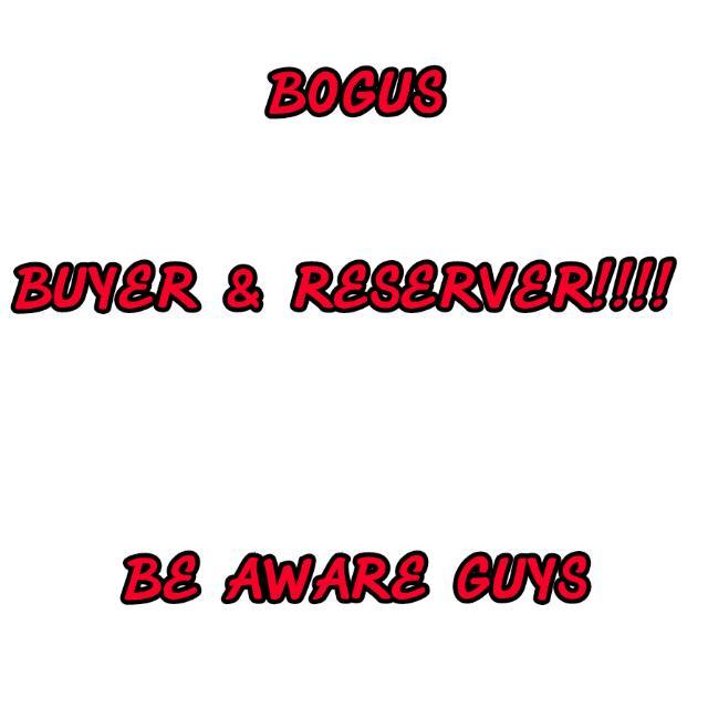 BOGUS BUYER & RSERVER