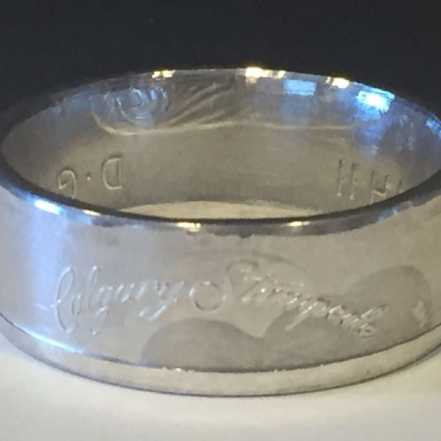 Calgary Stampede Coin ring