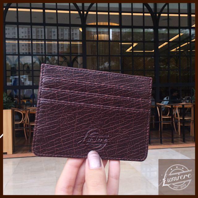 Card Holder Dompet Tempat Kartu Kecil