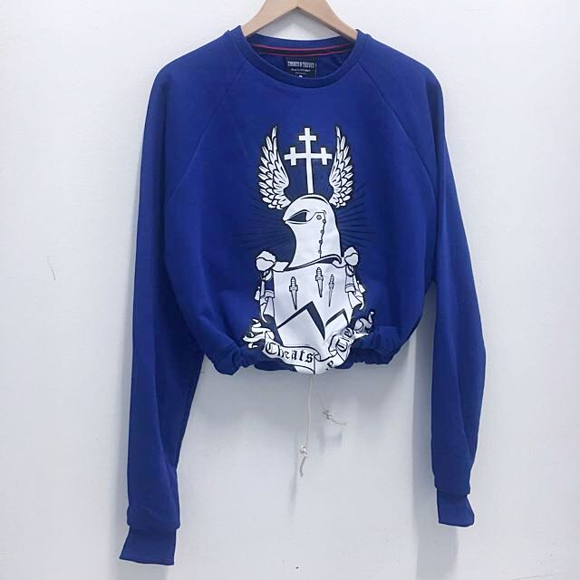 Cheats And Thieves Crop Jumper