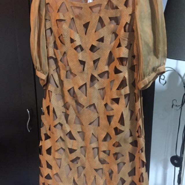 Chloe Brown Dress