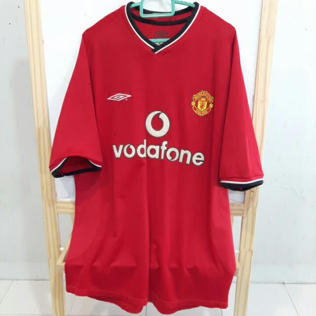 cheap for discount 45ac0 19e65 Classic 2000 Man Utd Home Jersey (L) / Jersi Manchester United Home 2000 (L)