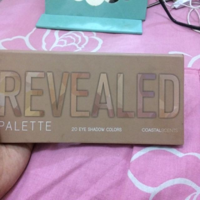 Coastal scents Revealed Pallete