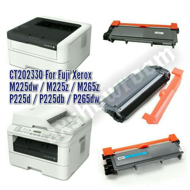 Compatible OEM Fuji Xerox CT202330 Black Toner Cartridge