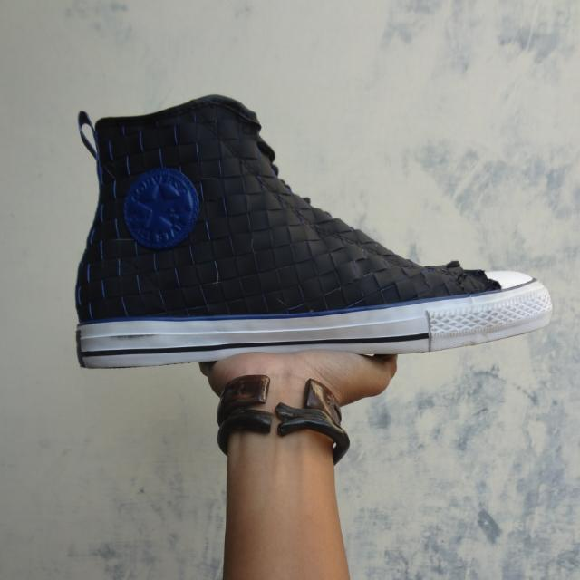Converse High Leather Woven