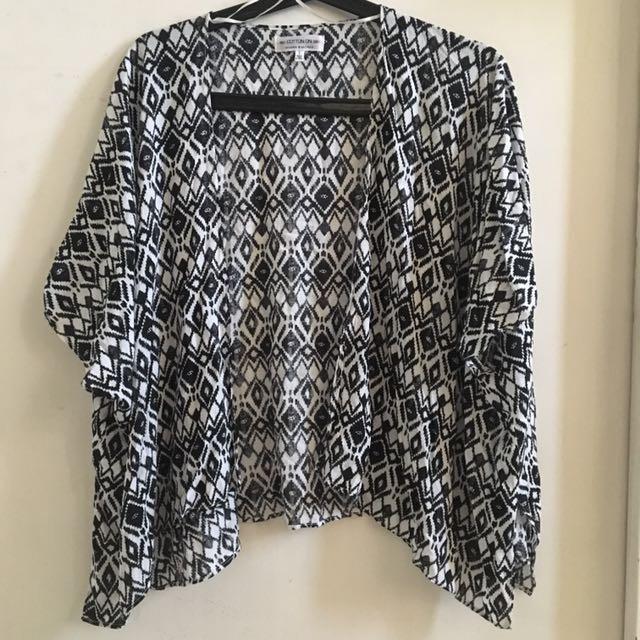 Cotton On Short Kimono Cover Up