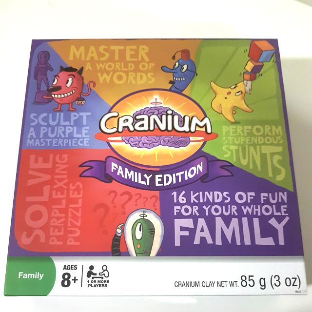 CRANIUM FAMILY EDITION 😆