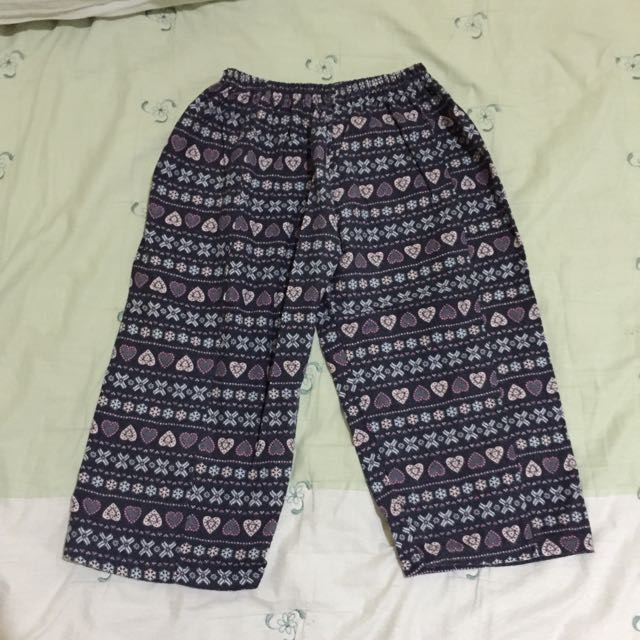 CULLOTE TRIBAL NAVY FLANEL