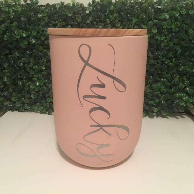 Custom Pet Treat Jar