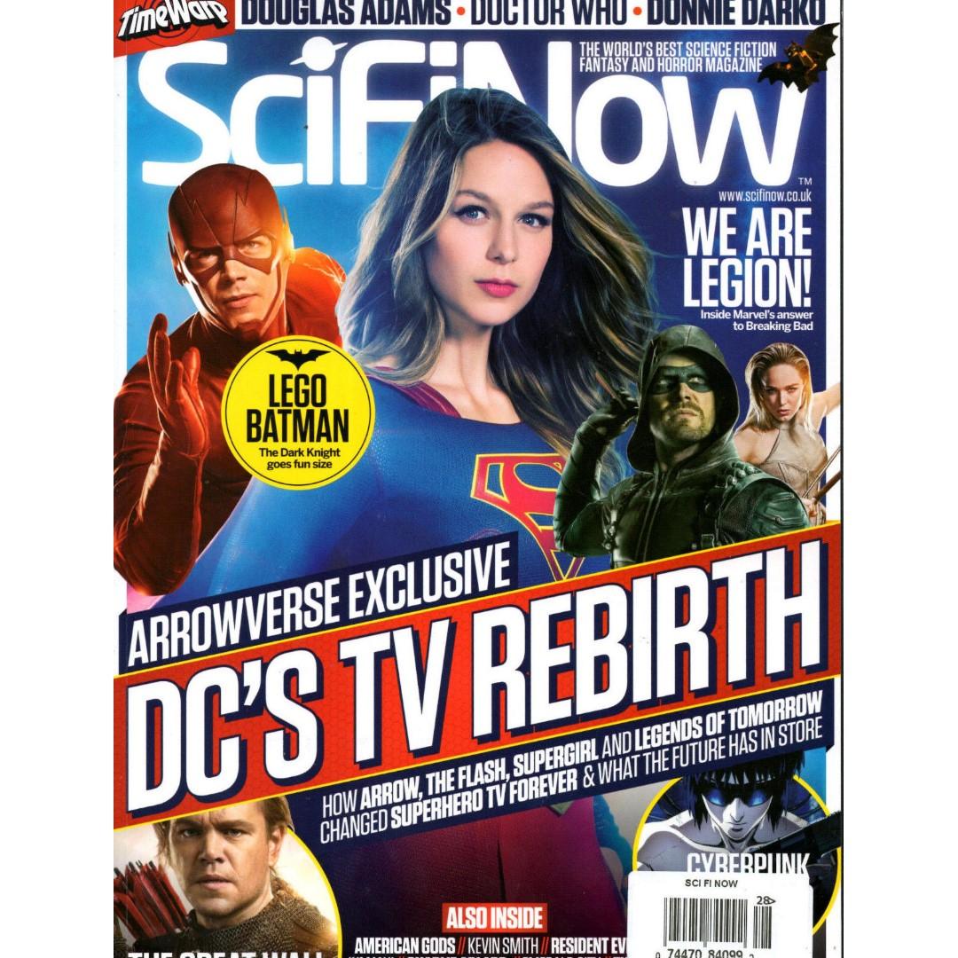 DC's TV Rebirth 2017  Movie Magazine pdf