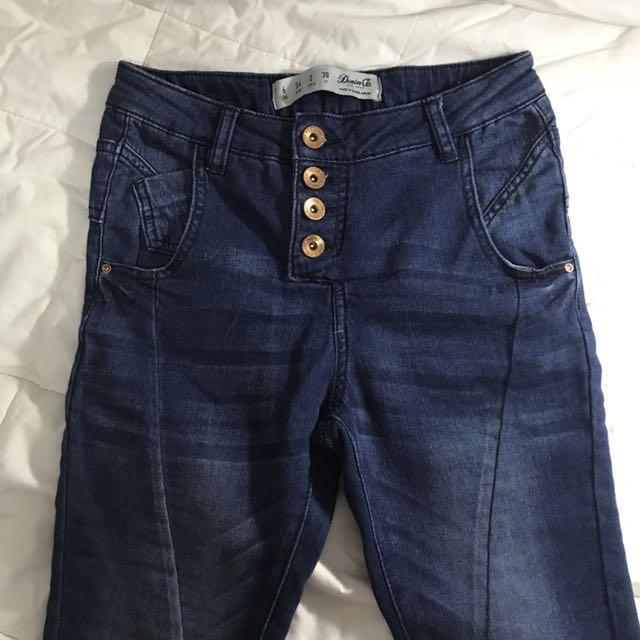 denim co jeans dark blue