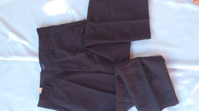 Black Dockers Mens Dress Pants