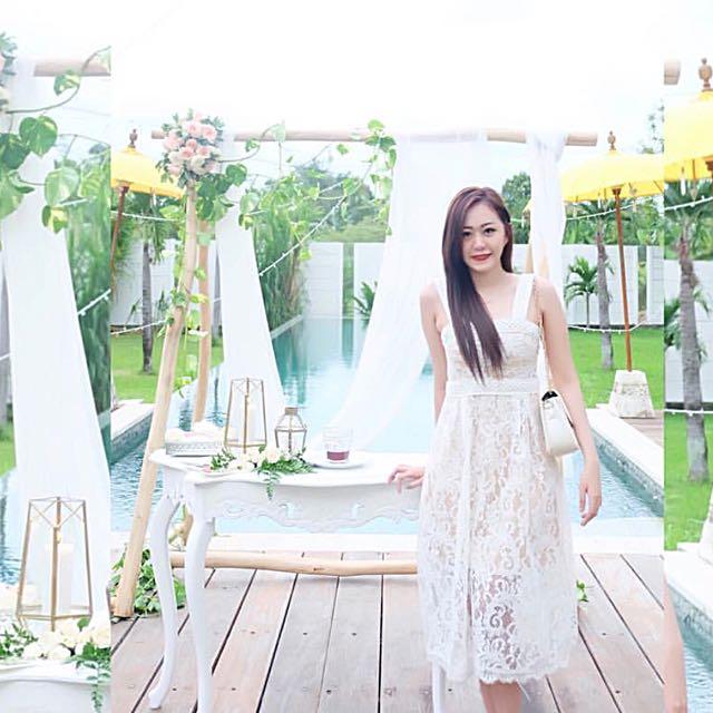 dorothy white dress
