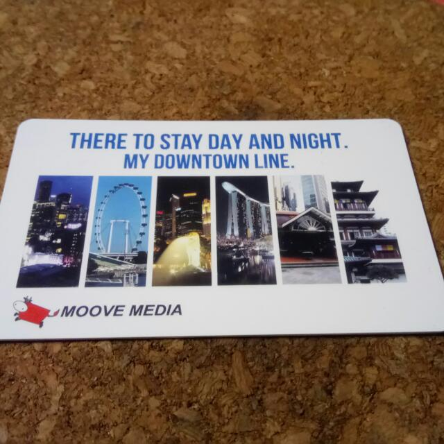 Downtown Line EzLink Card