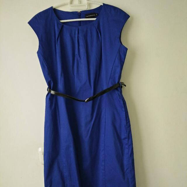 Dress Executive Biru
