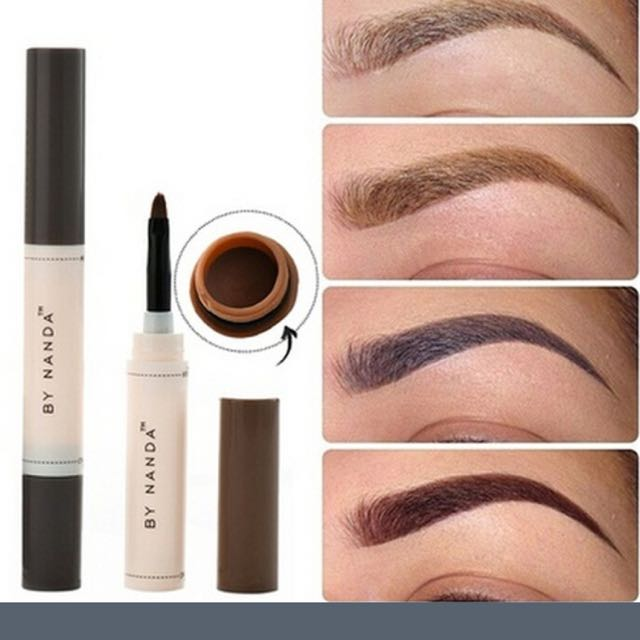 Eyebrow Cream Pencil Brush