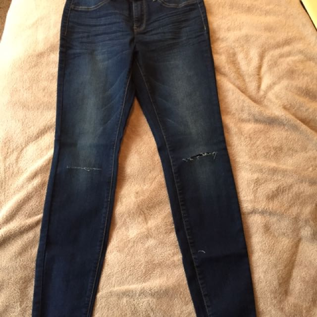 Ezibuy Emerge Women's Ripped Skinny Jeans