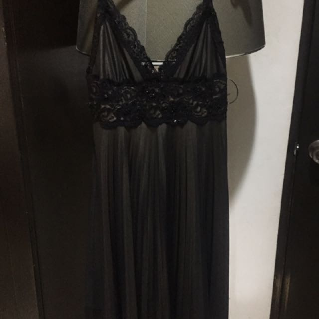 F21 Black Swing Dress