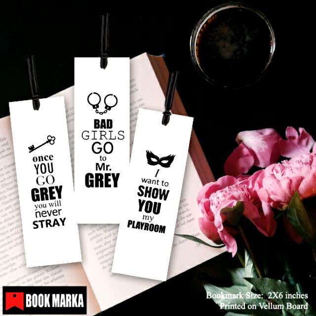 Fifty Shades Bookmarks