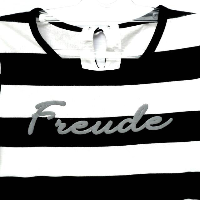 Freude Black and White